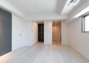 グランドコンシェルジュ六本木の1LDKの室内写真です。
