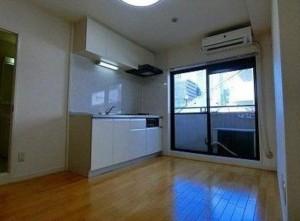 マートルコート新宿ガーデンハウスの2階・2DKの室内写真です。