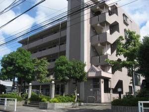 新横浜ガーデンコートBサイドの外観